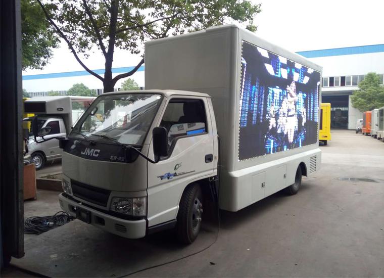 江铃顺达广告宣传车